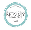 Featured on Beauty and Lifestyle Mommy magazine badge
