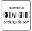 Featured on Bridal Guide website