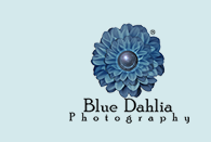 Blue Dahlia Photography Logo